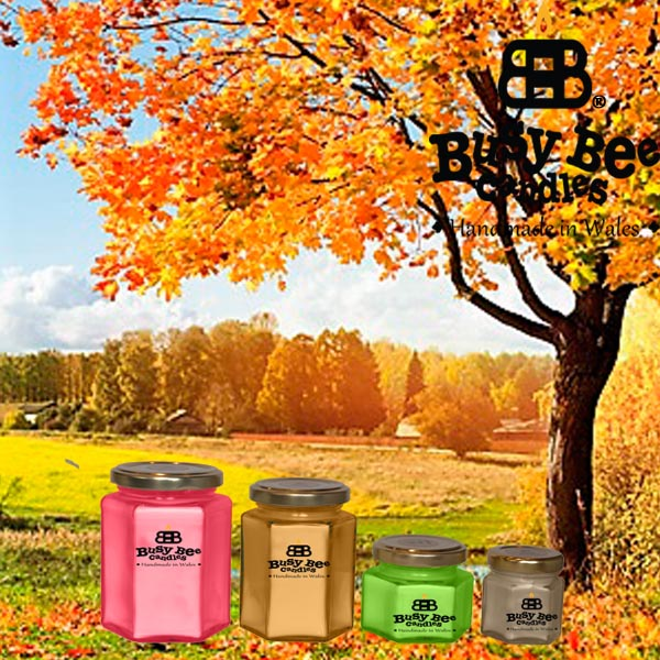 Autumn Glory Classic Scented Candles