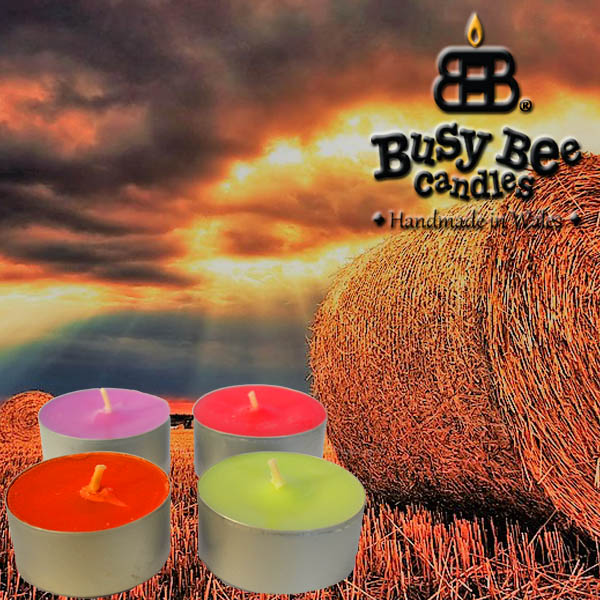 Harvest Gold Scented Tea Lights