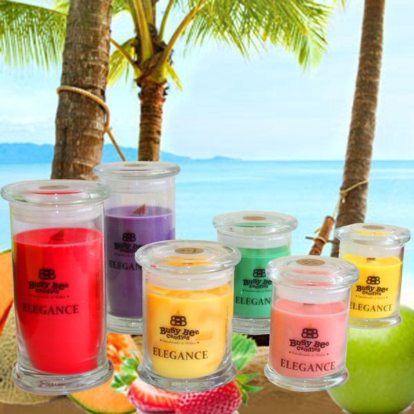 Beach Bum Elegance Candles