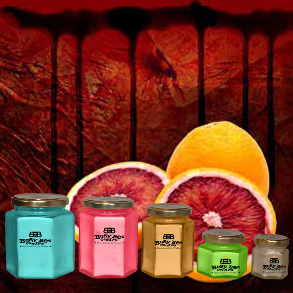 Blood Orange Candles