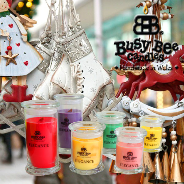 Christmas Fayre Elegance Scented Candles