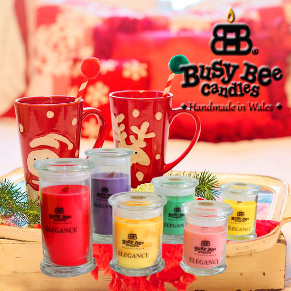 Cozy Christmas Elegance Scented Candles