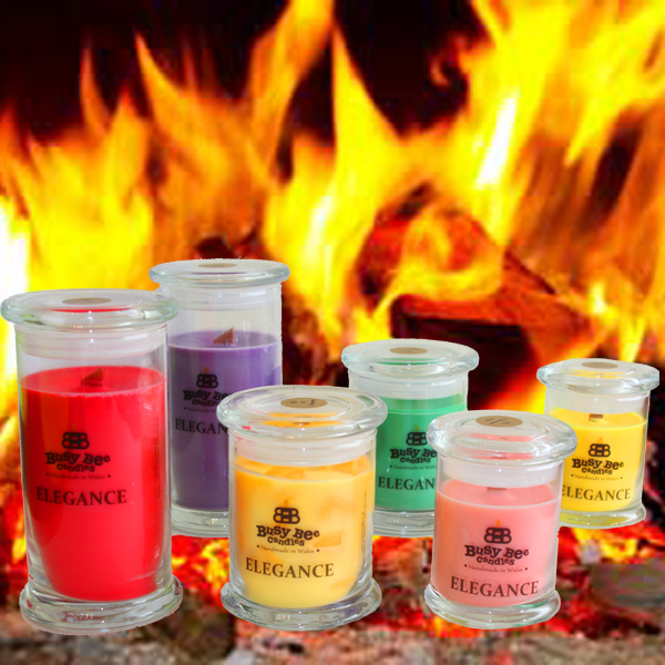 Crackling Fire Elegance Candles