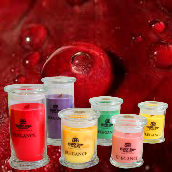 Dragon's Blood (Gwaed Dreigiau) Elegance Candles