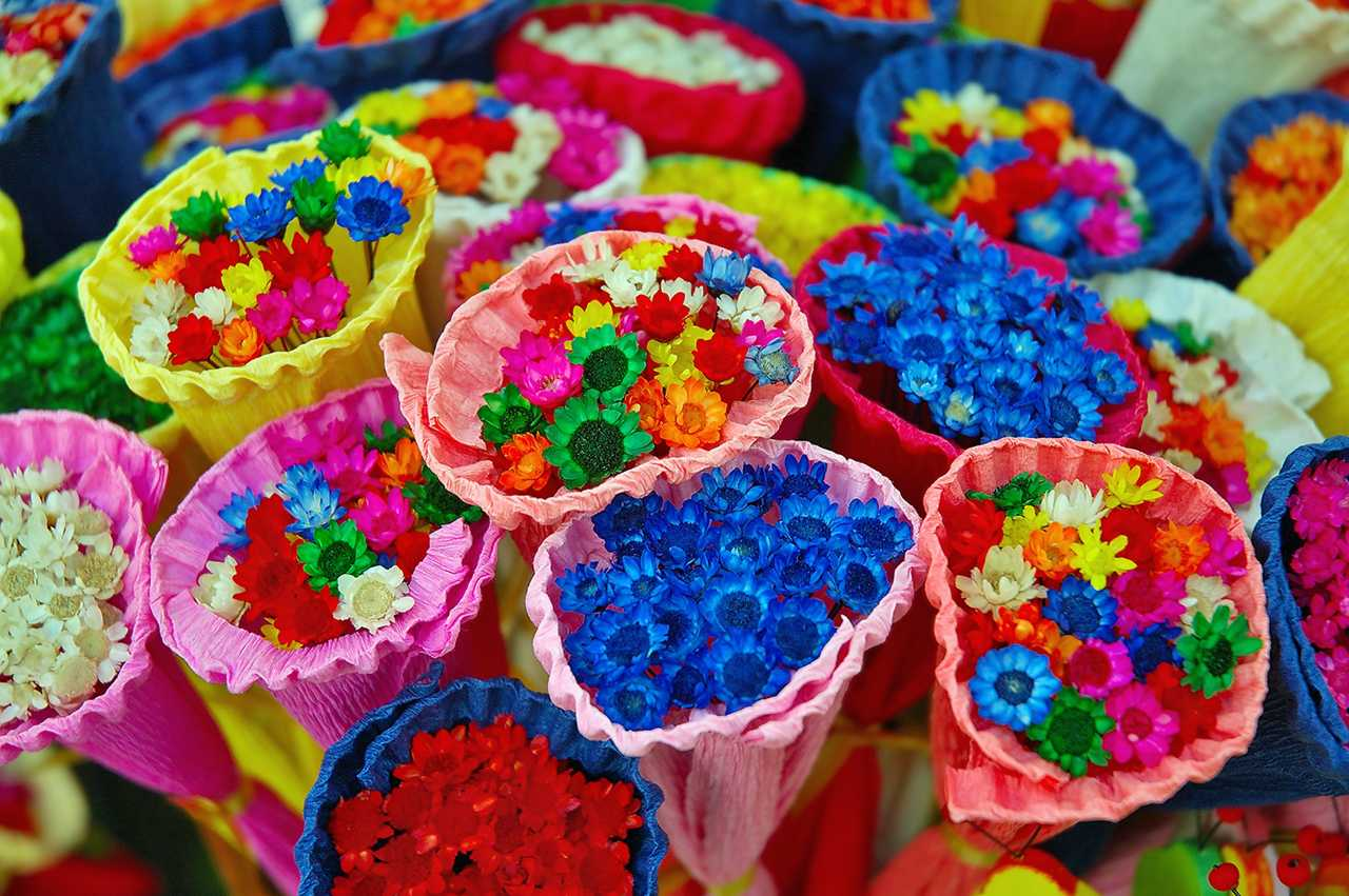 Flower Stall Candles