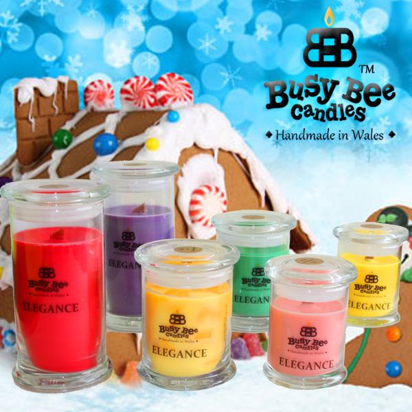 Ginger Christmas Elegance Candles