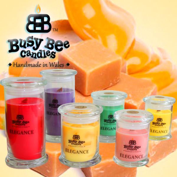Golden Caramel Elegance Candles