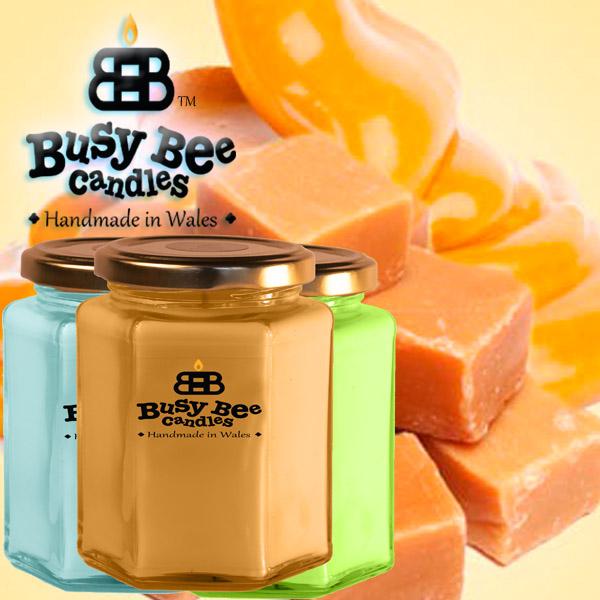 Golden Caramel Large Candle