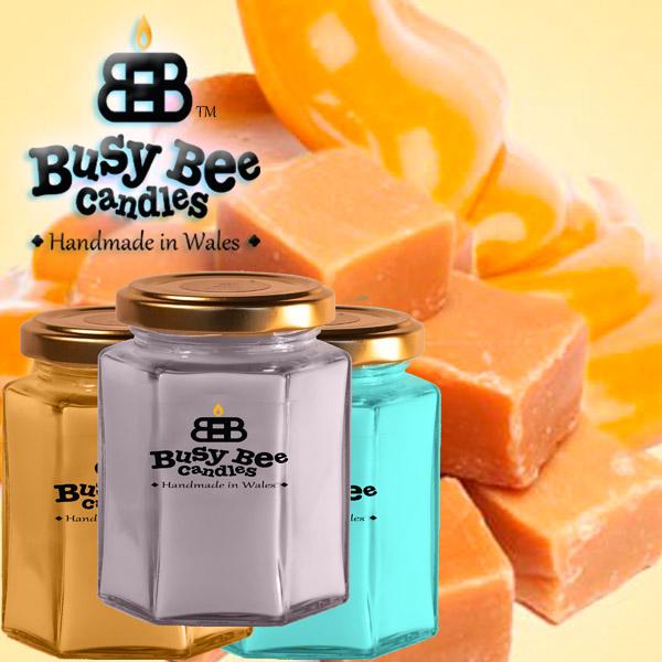 Golden Caramel Medium Candle