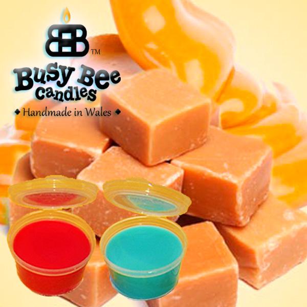 Golden Caramel Wax Tart