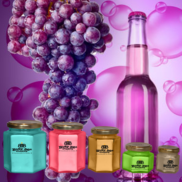 Grape Bubbles Scented Candles Collection