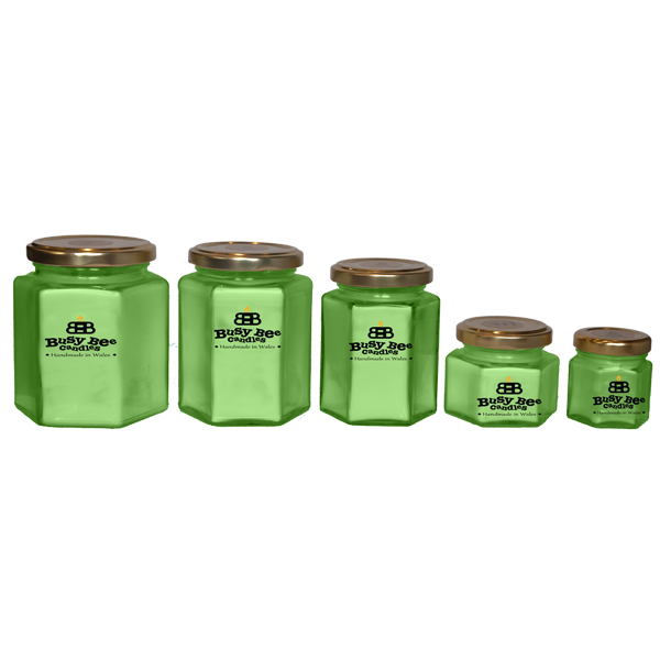 Green Tea and Lemongrass Candles