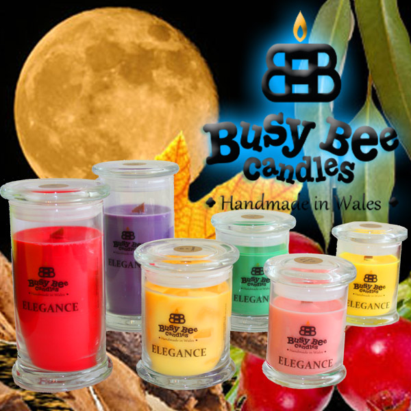 Harvest Moon Elegance Candles