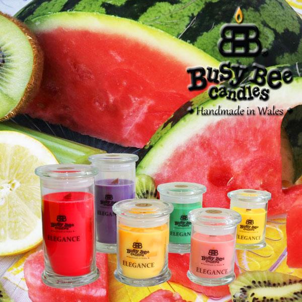 Kiwi Watermelon Elegance Scented Candles