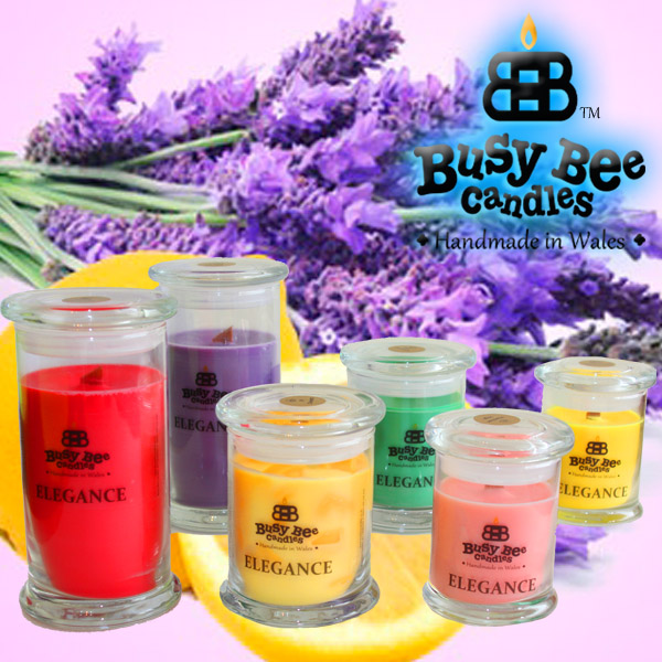 Lemon Lavender Elegance Candles