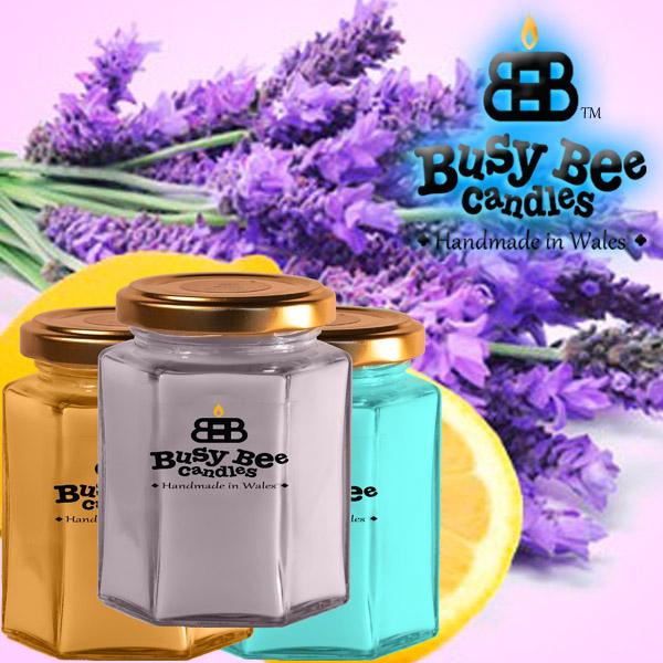 Lemon Lavender Medium Candle