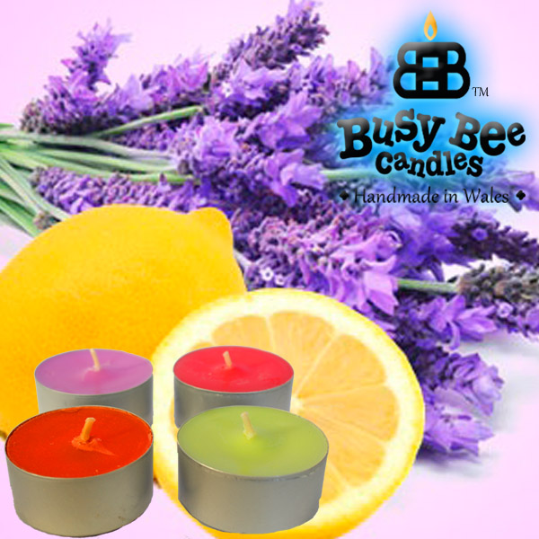 Lemon Lavender Tea Lights