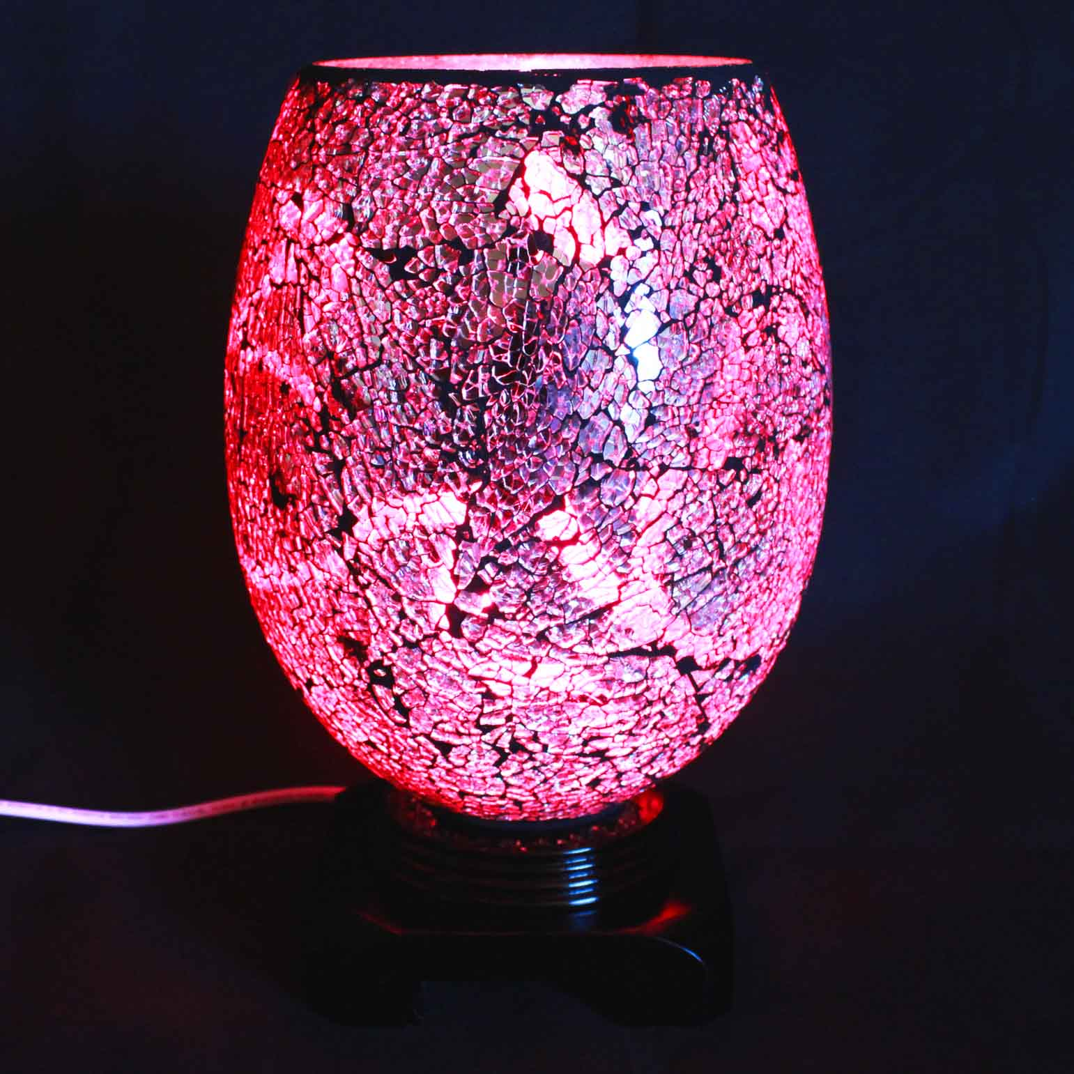 Swirl Fuchsia Electric Wax Tart Warmer