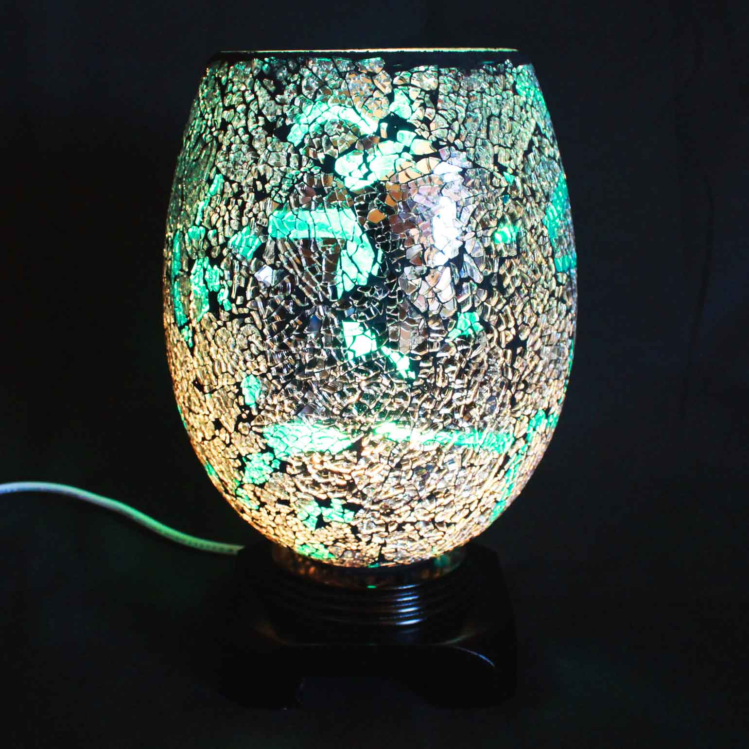 Swirl Aqua Electric Wax Tart Warmer