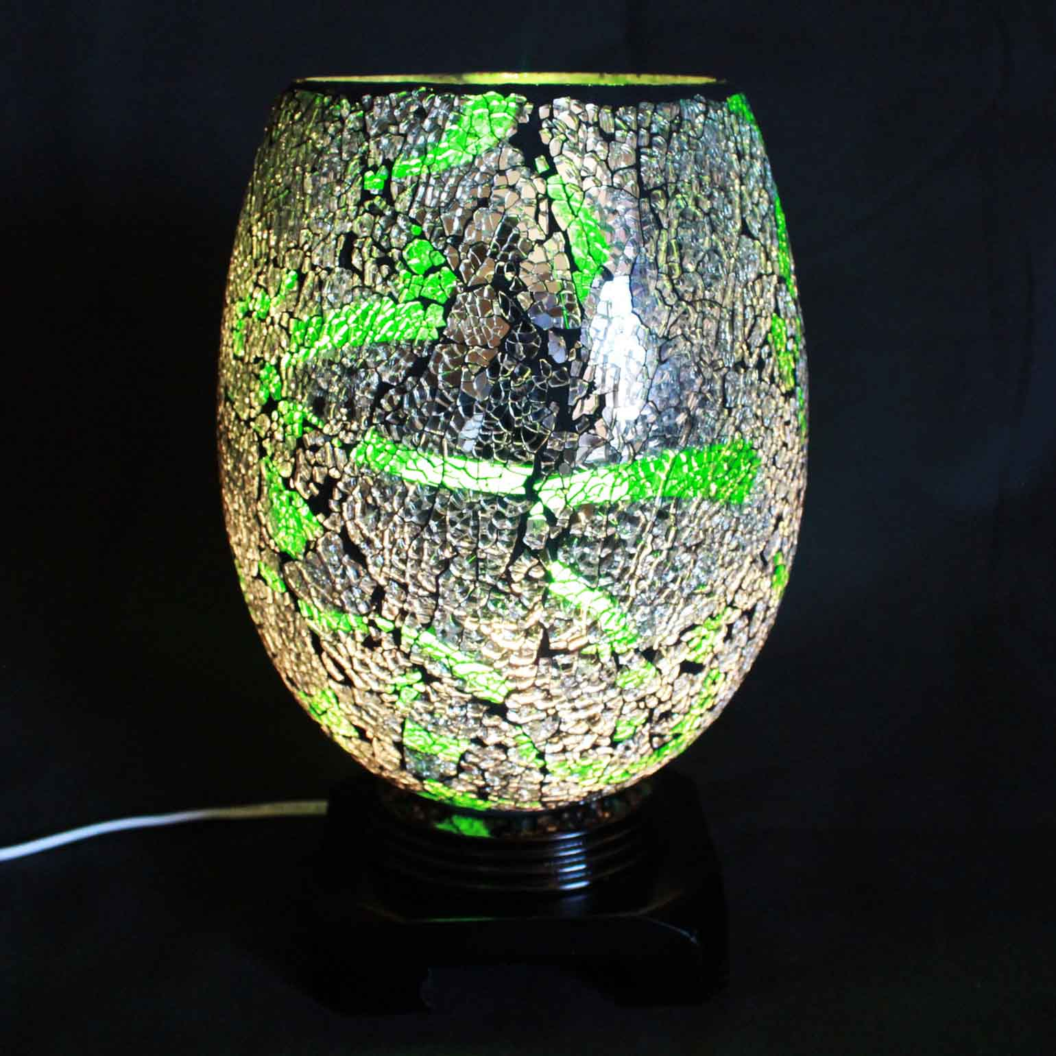 Swirl Jade Electric Wax Tart Warmer