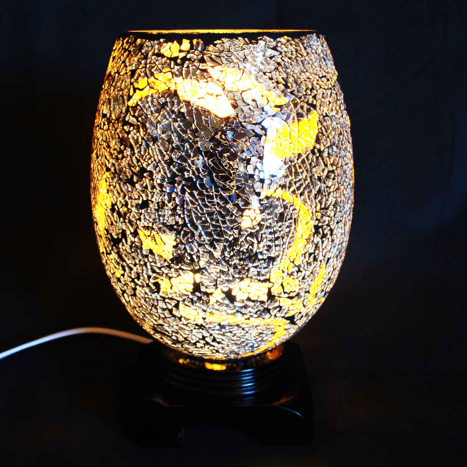 Swirl Amber Electric Wax Tart Warmer