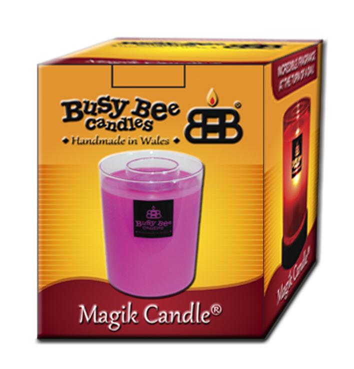 Sun Kissed Raspberry Magik Candle