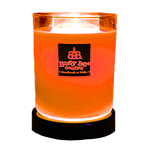 Hot Orange Magik Candle