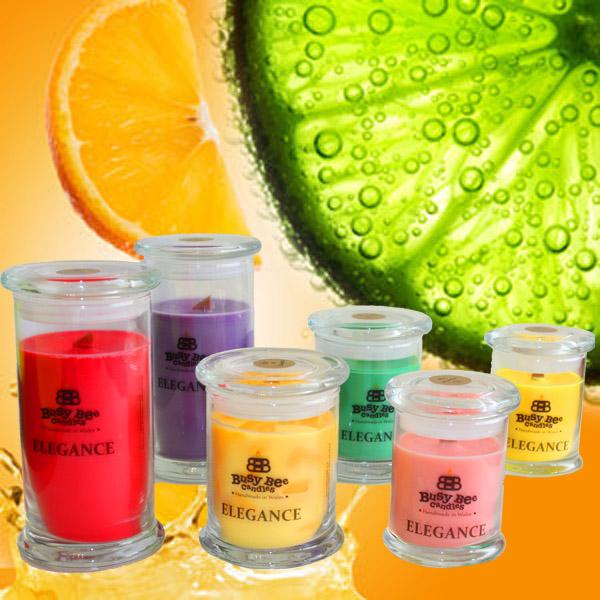 Mandarin Zest Elegance Candles