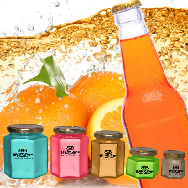Orange Pop Scented Candles Collection