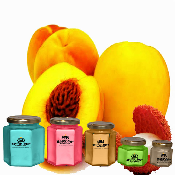 Oriental Peach Scented Candles Collection