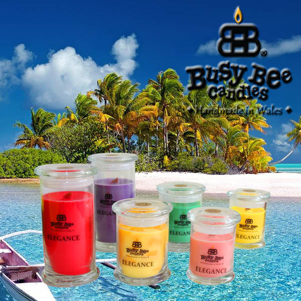 Perfect Beach Elegance Scented Candles