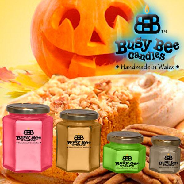 Pumpkin Crunch Candles
