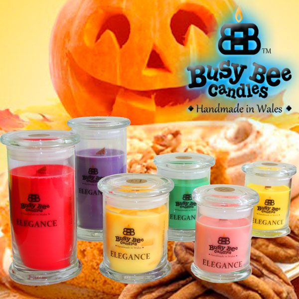 Pumpkin Crunch Elegance Candles