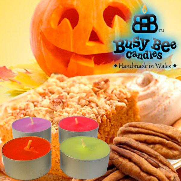 Pumpkin Crunch Tea Lights