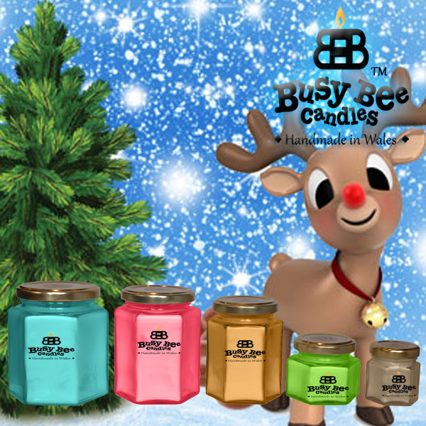 Rudolph's Trail Candles