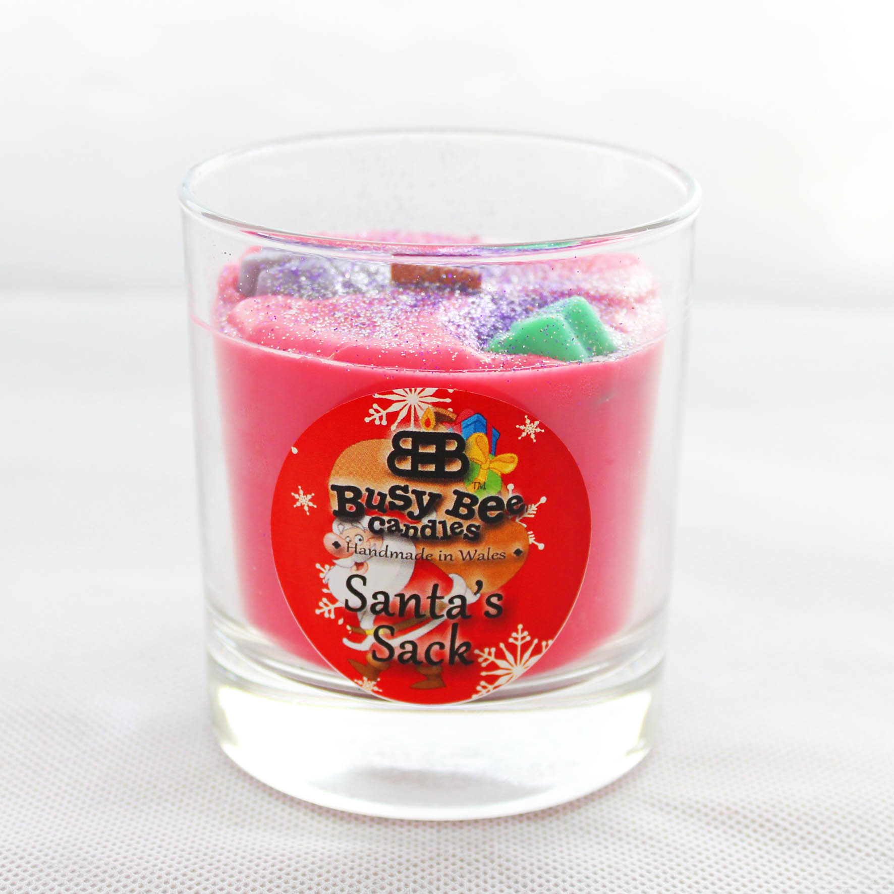 Santa's Sack Christmas Crackling Wick Scented Candle