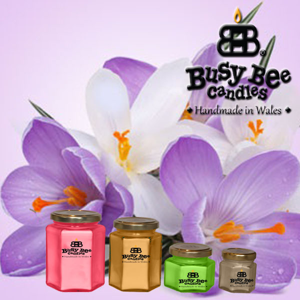 Spring Flowers Classic Scented Candles