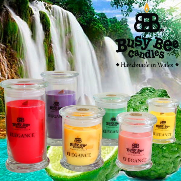 Spring Time Scented Elegance Candles