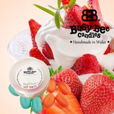 Strawberries And Cream Hot Shots