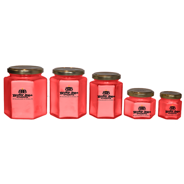 Strawberry Crush Candles