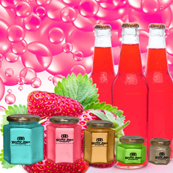 Strawberry Pop Scented Candles Collection