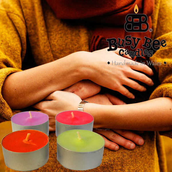 Sweet Embrace Scented Tea Lights