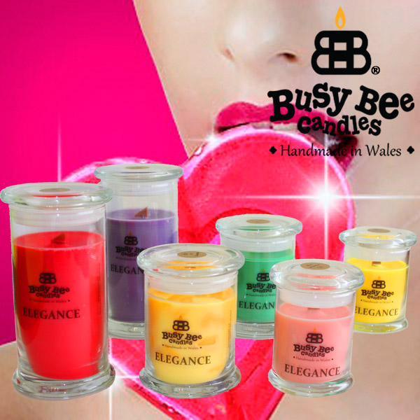 Sweet Lollipop Scented Elegance Candles