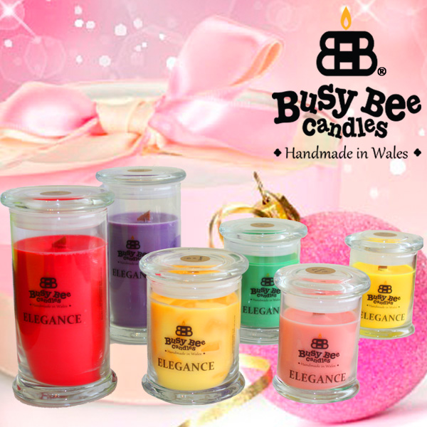 Tinsel Scented Elegance Candles