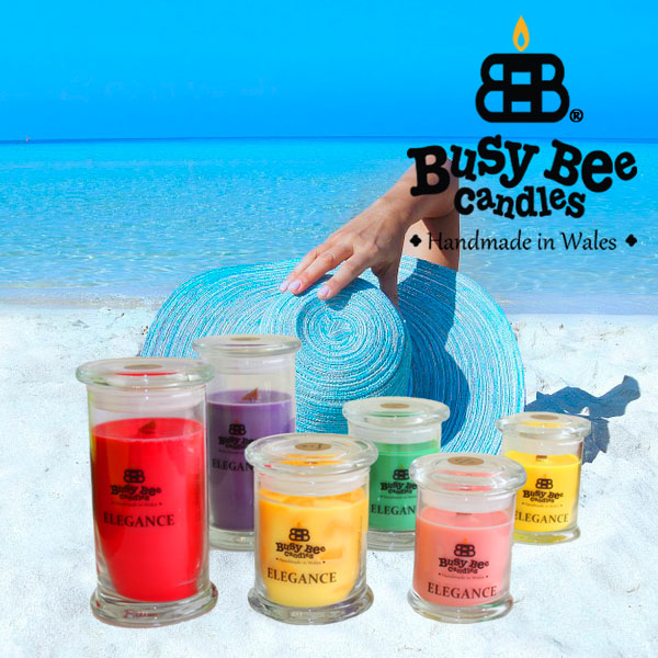 To The Beach Elegance Scented Candles