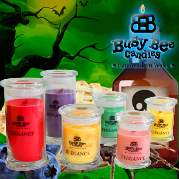 Trick Or Treat Elegance Candles