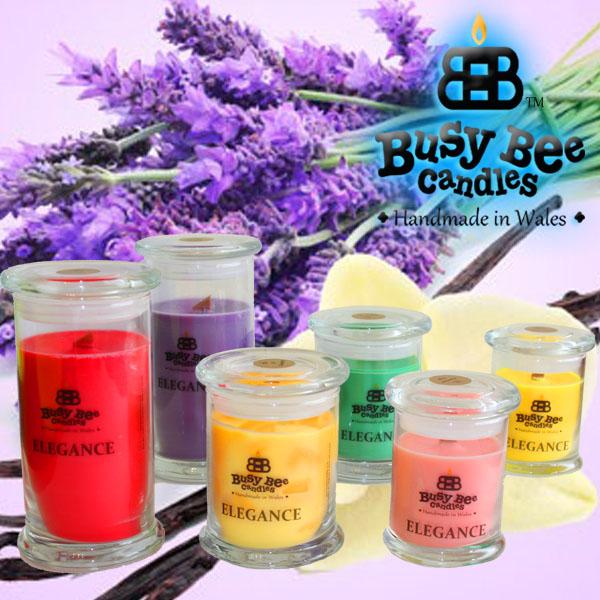 Vanilla Lavender Small Elegance Candle