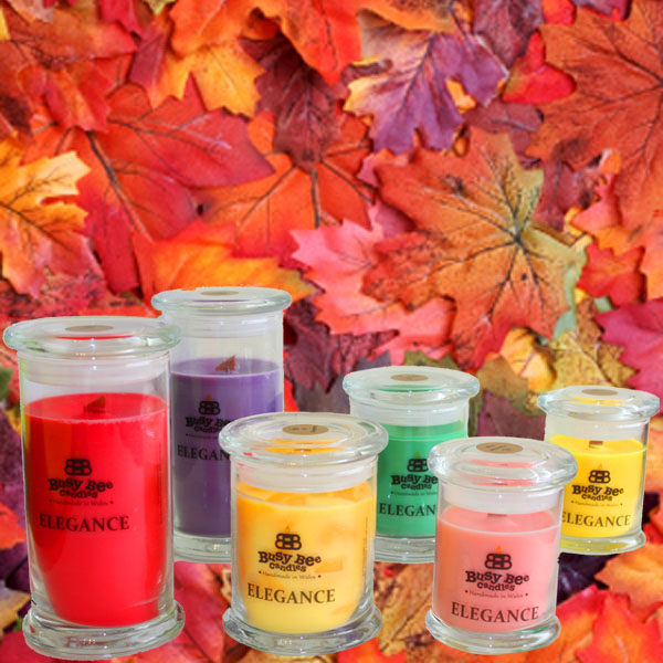 Magical Autumn Elegance Candles