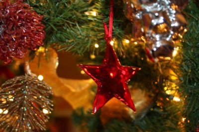 Christmas Morning Tea Light