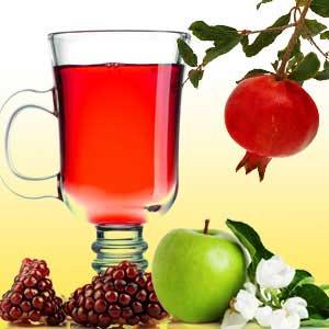 Pomegranate Cider Tea Light